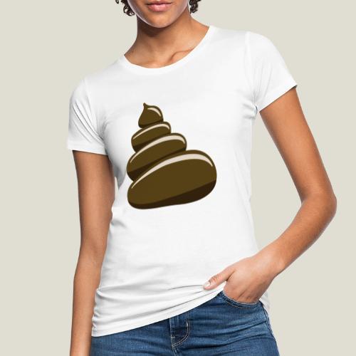 Bajskorv, Turd, Crap, Poop, Shit, Shite - Ekologisk T-shirt dam