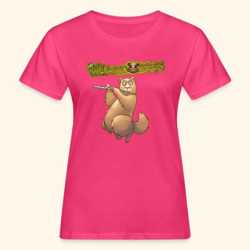 Tshirt Flute devant 2 - T-shirt bio Femme