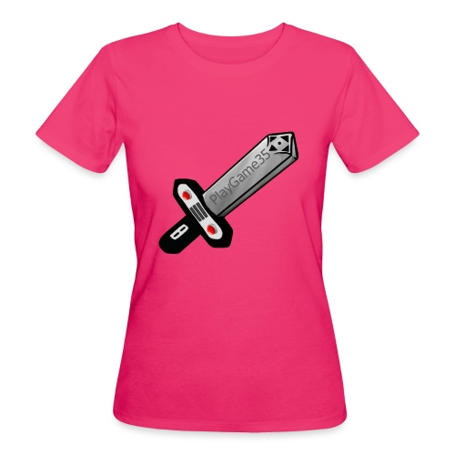 Logo PlayGame35 - T-shirt ecologica da donna