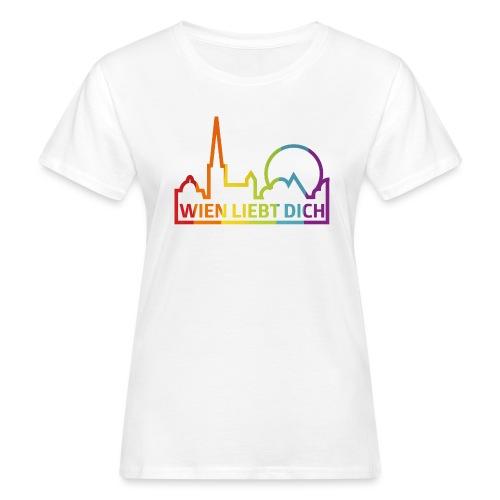 Wien Liebt Dich - Frauen Bio-T-Shirt