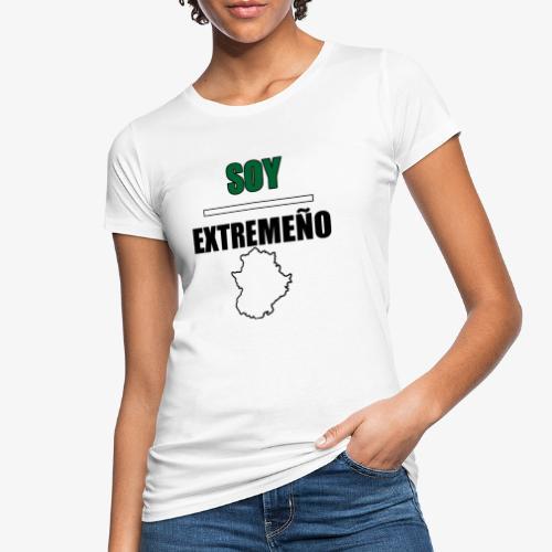 Soy Extremeño. - Camiseta ecológica mujer