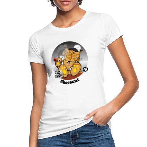 #bosscat - Frauen Bio-T-Shirt