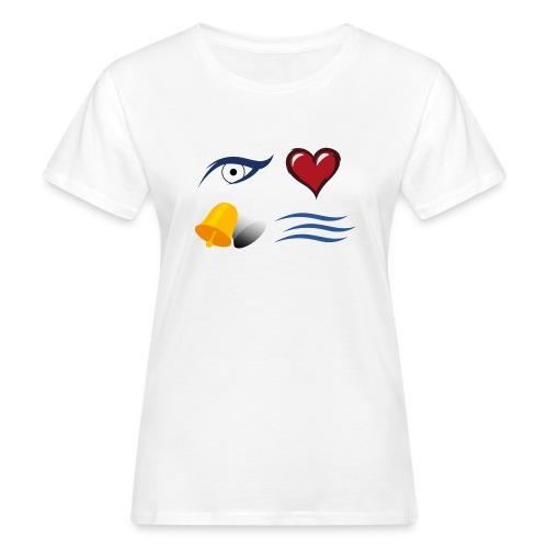I LOVE GLOCKEN BACH jpg - Frauen Bio-T-Shirt