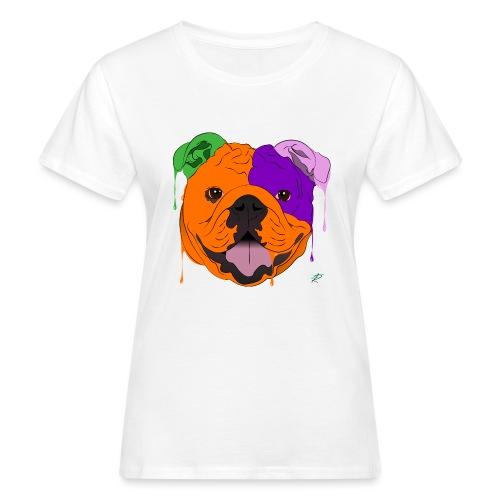 Bulldog - T-shirt ecologica da donna