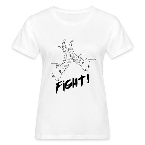 Fight! - Frauen Bio-T-Shirt