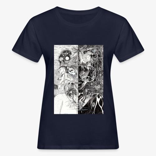 Universe In Us All Original Edition by Rivinoya - Naisten luonnonmukainen t-paita