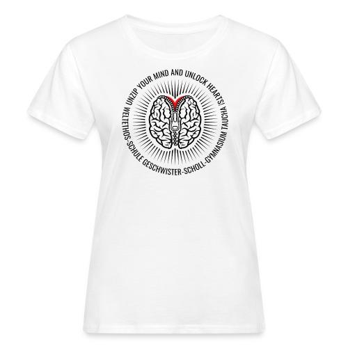 UNZIP YOUR MIND (black) - Frauen Bio-T-Shirt