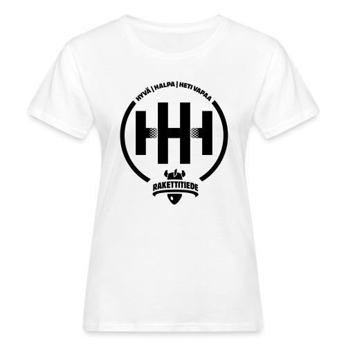 HHH-konsultit logo - Naisten luonnonmukainen t-paita