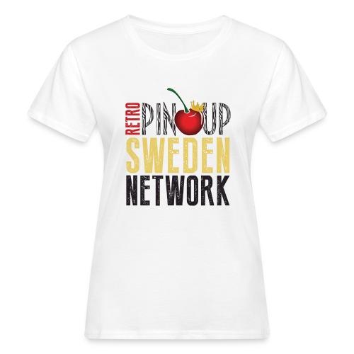 Tanktop Retro Pinup Sweden Crew utsvängd - Ekologisk T-shirt dam