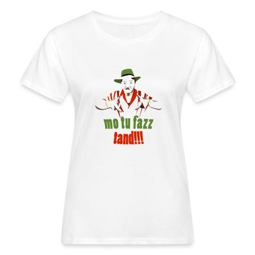 Attenzione - T-shirt ecologica da donna