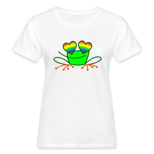 Pride Frog in Love - Women's Organic T-Shirt