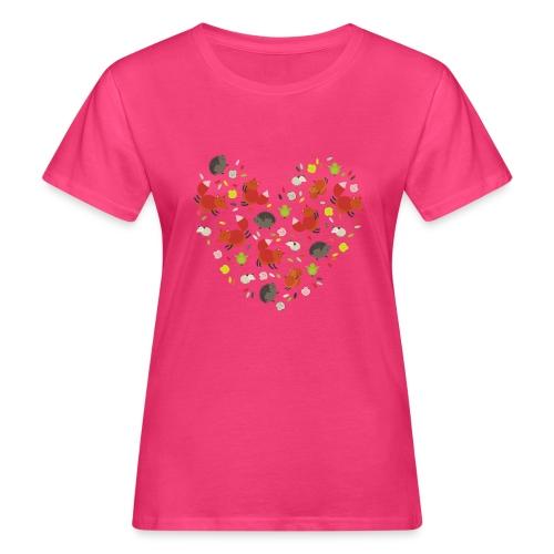 Metikössä - Naisten luonnonmukainen t-paita