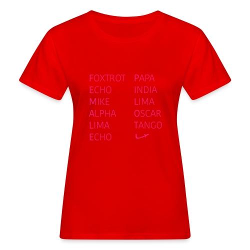 Foxtrot Echo2 - Women's Organic T-Shirt