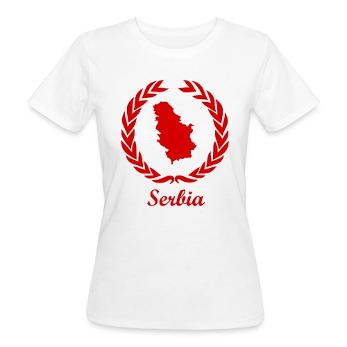 Connect ExYu Serbia Red Editon - Frauen Bio-T-Shirt