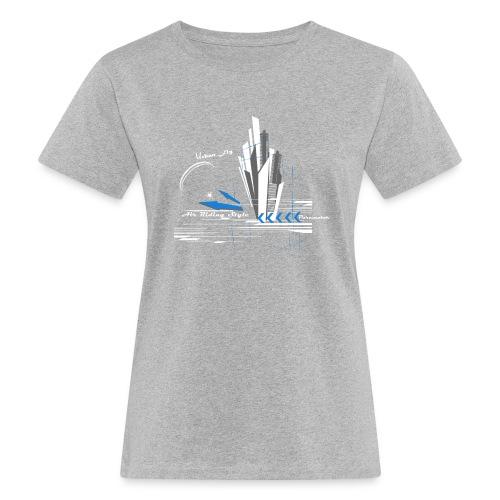 Libert'All Paramoteur Urban Fly bleu - T-shirt bio Femme