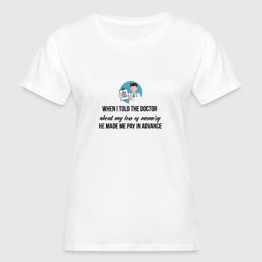 Ma perte de mémoire - T-shirt bio Femme