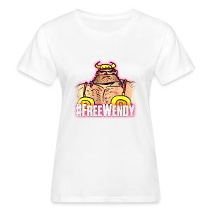#FreeWendy - Women's Organic T-shirt