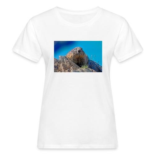 Murmeltier - Frauen Bio-T-Shirt