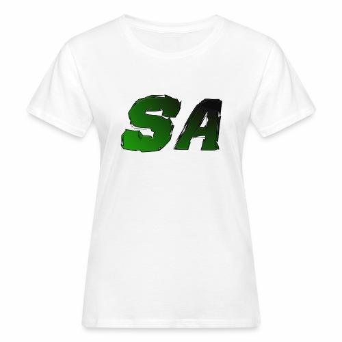 Grön SA Logo - Ekologisk T-shirt dam