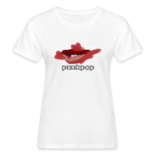 Cure Lips PunkPop - T-shirt ecologica da donna