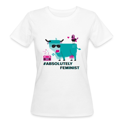 Absolutely Feminist (f) - Frauen Bio-T-Shirt