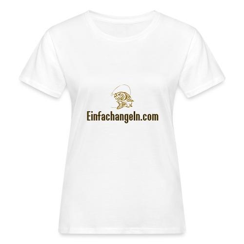 Einfachangeln Teamshirt - Frauen Bio-T-Shirt