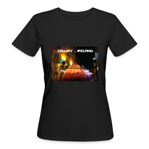 GALWAY IRELAND MACNAS - Women's Organic T-Shirt