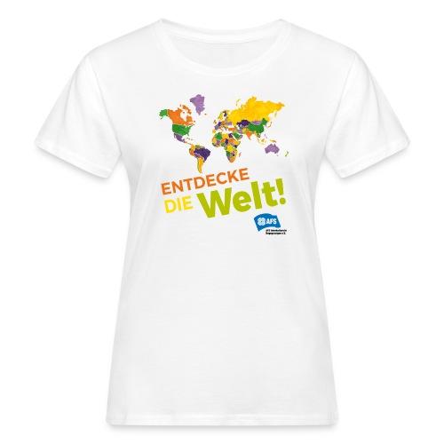 Entdecke die Vielfalt der Welt mit AFS - Frauen Bio-T-Shirt