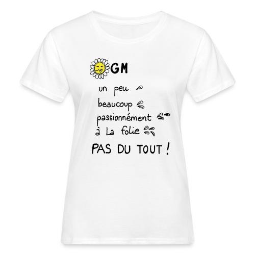 NOOGM - T-shirt bio Femme