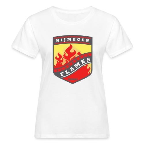 snapback pet rood/zwart combi - Vrouwen Bio-T-shirt
