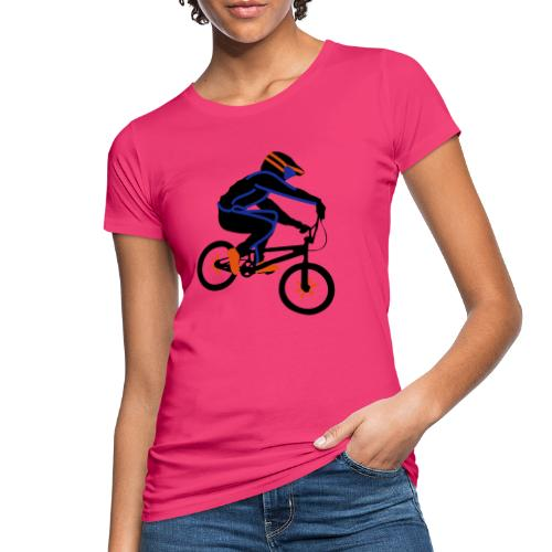 BMX Rider Dark - Vrouwen Bio-T-shirt