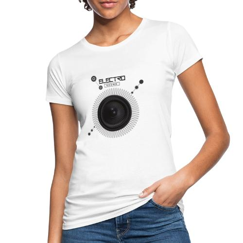 Electro Sound - T-shirt ecologica da donna