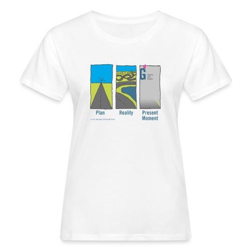 Plan-Reality-Present Moment II - Women's Organic T-Shirt