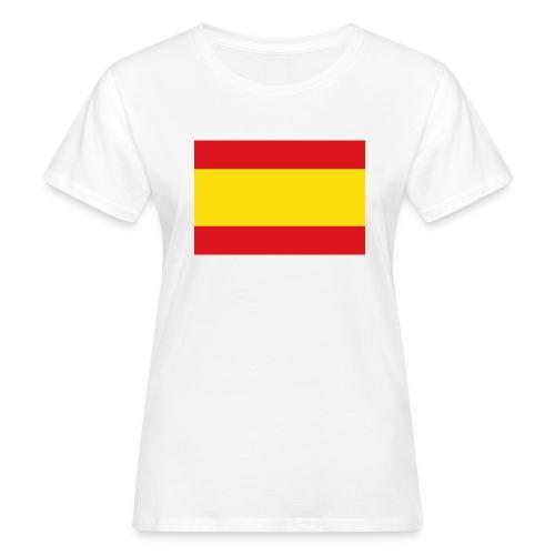vlag van spanje - Vrouwen Bio-T-shirt