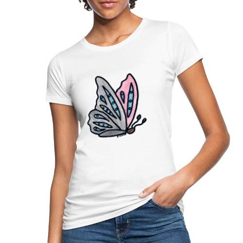 Fjäril - Ekologisk T-shirt dam