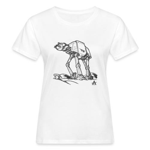 AT AT Walker ligne d'esquisse - T-shirt bio Femme