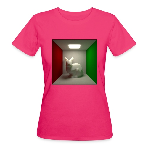 Bunny in a Box - Women's Organic T-Shirt