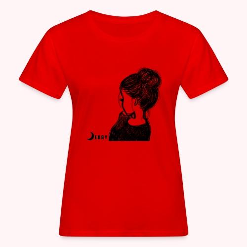 FALL BUN HAIR - 🍂COLLEZIONE AUTUNNALE by DEBBY🍁 - T-shirt ecologica da donna