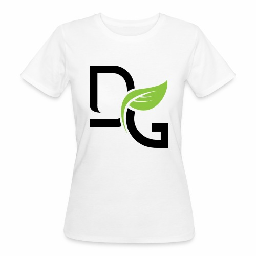 DrGreen Logo Symbol schwarz grün - Frauen Bio-T-Shirt