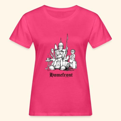 Homefront Heimatfront Waffen Mama Muttersöhnchen - Frauen Bio-T-Shirt