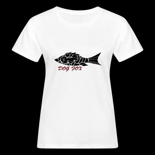 Dogfox Fisch - Frauen Bio-T-Shirt