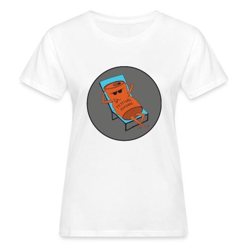 Festivalpodden - Loggan - Ekologisk T-shirt dam
