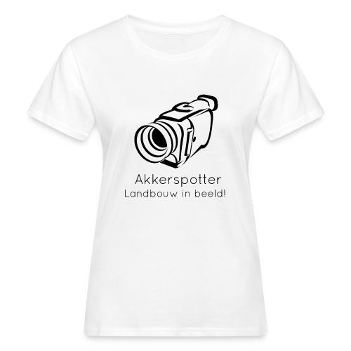 Logo akkerspotter - Vrouwen Bio-T-shirt