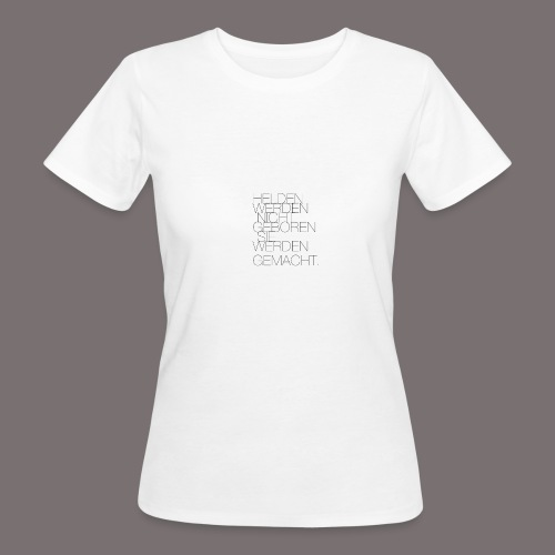 Helden - Frauen Bio-T-Shirt