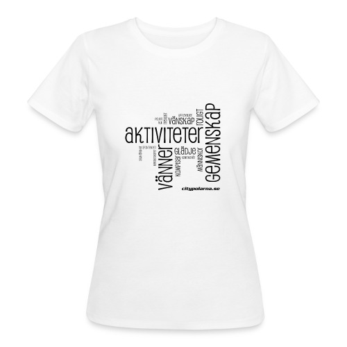 cip word cloud png - Ekologisk T-shirt dam