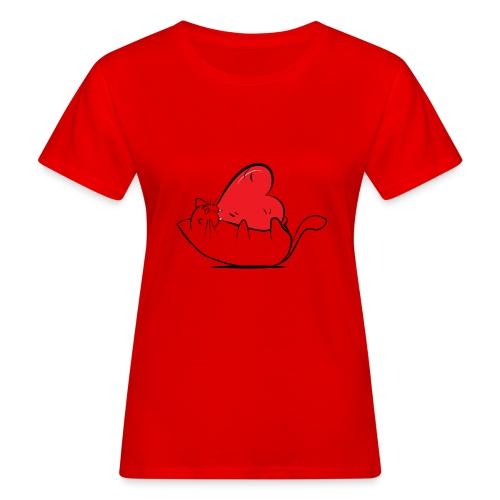 Cat Love - Vrouwen Bio-T-shirt