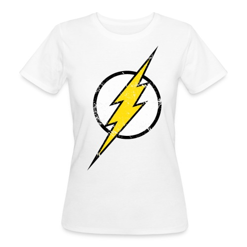 DC Comics Justice League Flash Logo - Frauen Bio-T-Shirt
