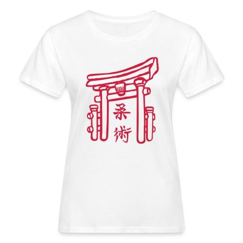 Jiujitsu_Tor - Frauen Bio-T-Shirt