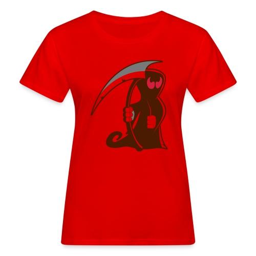 death - T-shirt ecologica da donna