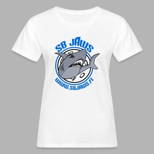 SB JAWS - Naisten luonnonmukainen t-paita